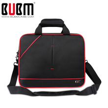 BUBM Travel Organizer Case For Nintendo WII U Console/ Gamepad / Charge / Adapter / Accessories Case/Cover With Shoulder Strap