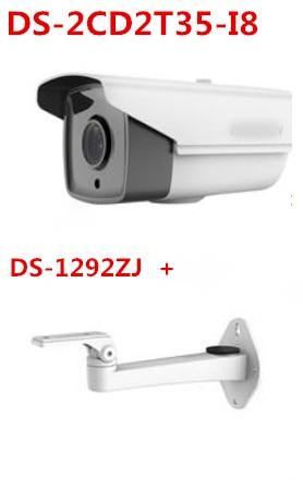 DS-2CD2T35-I8 multi-language version 3MP IP security camera 80m IR  POE DWDR EXIR bullet CCTV camera 1080P IP66 H.265<br><br>Aliexpress