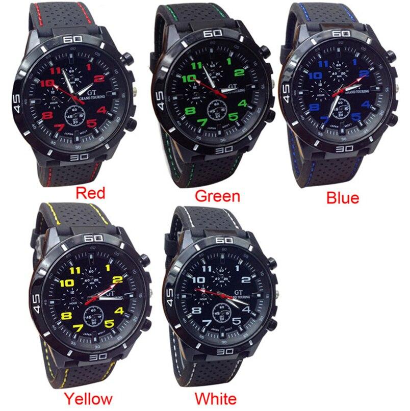 Novel design 2015 Quartz Watch Men Military Watches Sport Wristwatch Silicone Fashion Hours P14 Dropshipping<br><br>Aliexpress