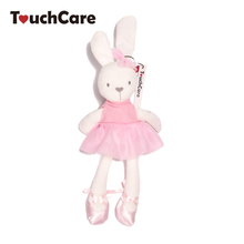 35*8cm Cute Bunny Baby Soft Plush Toys Mini Stuffed Animals Kids Baby Toys Smooth Obedient Sleeping Rabbit Doll(China)