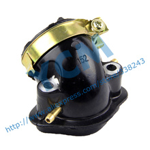 GY6 125 150cc EUII Intake Pipe Carburetor Inlet Pipe Scooter Engine Spare Parts 152QMI 157QMJ Moped Wholesale YCM