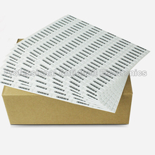 EAS soft label AM 58KHZ for anti-shoplifting DR soft label 5000pcs/lot