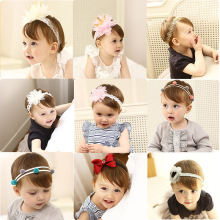 Buy Korea High Handmade Cotton Rabbit Flower Crown Hair Accessories Girls Headband Hair Band Hair Bows Hair Ties Turbante -3 for $1.80 in AliExpress store
