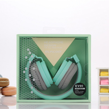 Birthday Gifts Lovely Headphones Candy Color Folding Baby Headsets with Microphone Headphones for Mp3 Smartphone Girls Xiaomi