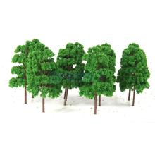 20Pcs Model Abies Holophylla Trees Train Railroad Scenery 1:150