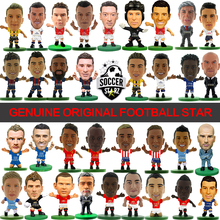 Soccerstarz (2017 version) Hand-Painted 5cm Classic Soccer Star Doll Home Kit Figures Fashion Football Star Dolls for Collection