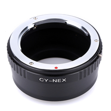Buy Camera Lens Adapter Ring Accessories Contax Yashica C/Y CY Lens Sony Alpha NEX E-Mount NEX-3N NEX-6 E Mount for $10.98 in AliExpress store