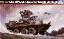trumpeter  1/35  00372    USMC LAV-AT LIGHT ARMORED VEHICLE-ANTITANK  Assembly scale Model kits