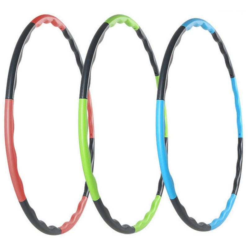 80cm Removable Weight Loss Hard Tube Equipment Waist Slimming Fitness Hula Hoops Three Colors(China (Mainland))