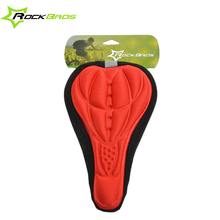 ROCKBROS Cycling Bike Seat Saddle Cover Soft Cushion New MTB Seat Men & Women Cycle Seats Saddles With 5 Colors(China)