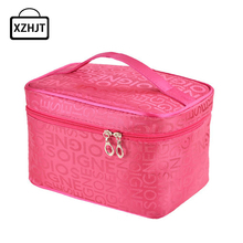 Multifunction Women Cosmetic Bag Large Travel Lady Makeup Bag Toiletry Bag Organizer Make Up Cases Trousse Maquillage