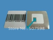 EAS RF soft  label 50x50MM, 20000PCS