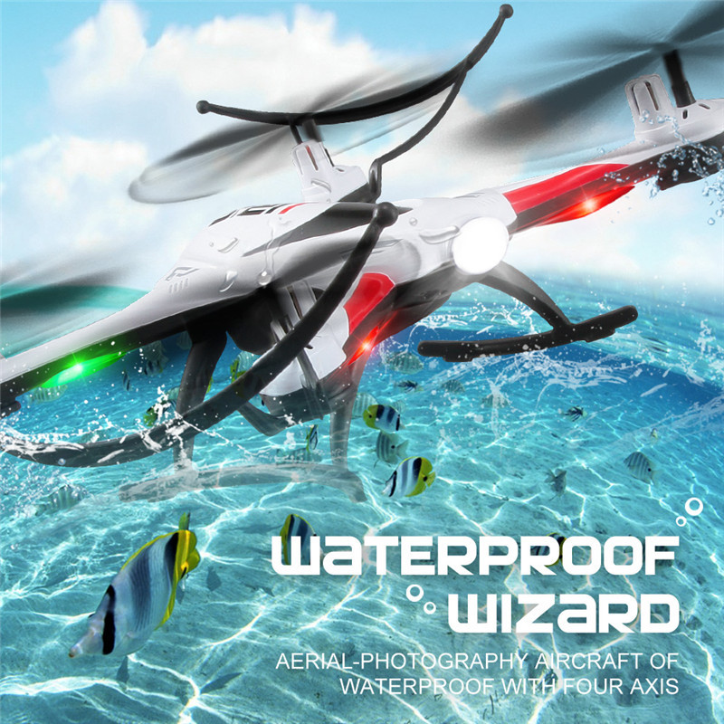 JJRC H31 Waterproof Resistance To Fall Headless Mode One Key Return 2.4G 4CH 6Axis RC Quadcopter Helicopter RTF Mode 2<br>