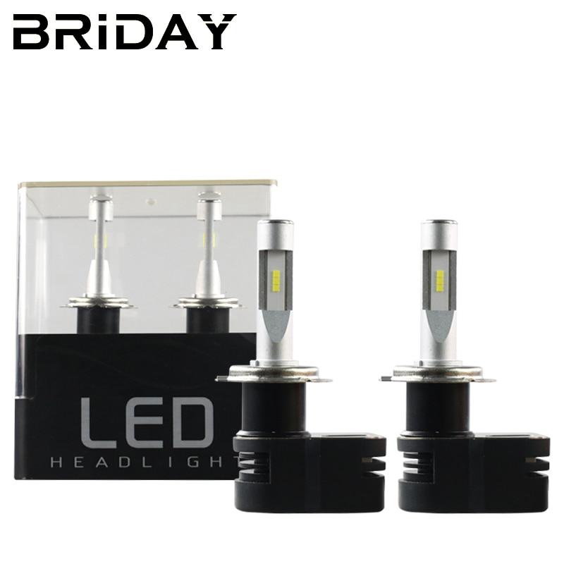 New 1 pairs Car LED Headlights 60W 8400LM T5 H1 H3 H4 H7 H8 H9 H11 9003 HB2 9004 9005 HB3 9006 HB4 9012 LED Headlight Bulb<br>