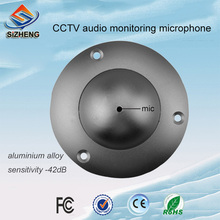 SIZHENG SIZ-180 wall microphone cctv sensitive sound pickup device audio monitoring for surveillance camera