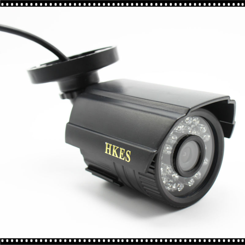 2pcs/lot IMX323 3000TVL ABS CCTV Camera Analog IR-Cut Night Vision Outdoor Waterproof Bullet Camera Surveillance<br>