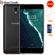 Free Film n Case Doogee X10 3360mAh Android 6.0 OS 8GB ROM MTK6570 CPU 5.0MP Rear Camera Dual SIM 5.0 inch IPS Smartphone(China)