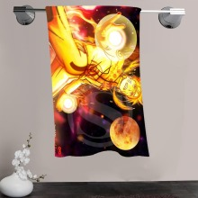 H-P&80 Custom Big Size 140cmx70cm Cotton Bath Towel Naruto #4 Shower Towel For your family SQ00908-@H080