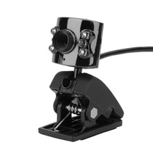 Hot Selling USB 5Mega Pixel  6LED HD Webcam Camera With Microphone Mic For PC Laptop