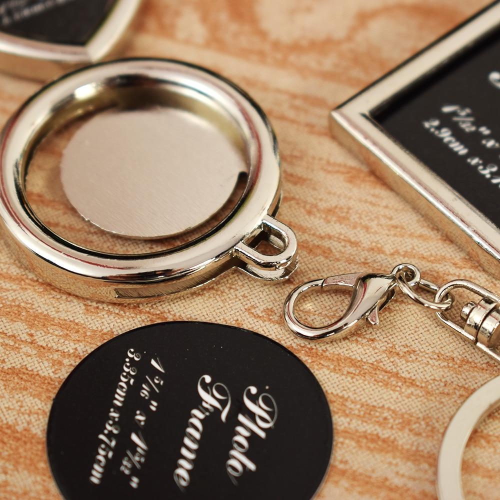 Großhandel Heißer Keychain Frames Kreative Metalllegierung Einfügen ...