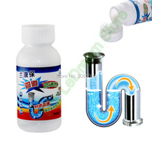 Kitchen Toilet Bathroom Sewer Drain Pipeline Clogged Sink Drain Strong Cleaning Removing Deodorant Dredge Agent Powder Cleaner