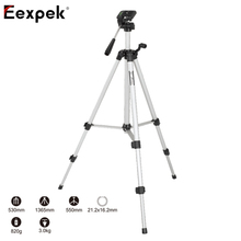 Weifeng WT-330A Professional Tripod Stand Universal 135CM Camera Tripod 330A for Video Camcorder Digital DSLR Camera Tripod Head(China)