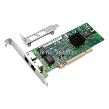 DIEWU 82546 Intel82546 Network Adapter Card Intel Dual-port 8492MT Gigabit Ethernet PCI Server 1000Mbps NIC(China)