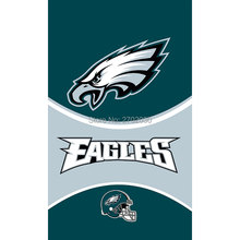 Philadelphia Eagles Hanging Flag Fans MAN CAVE Banner World Series Football Team 3ft X 5ft Banners Philadelphia Eagles Flag(China)