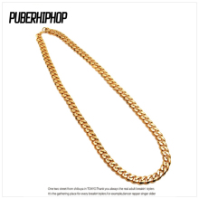 Punk 100CM Long Miami Cuban Link Chain Men's Hip Hop Necklace With 12MM 10MM 8MM Wide Men Gold Chain Collar Gold Filled Jewelry