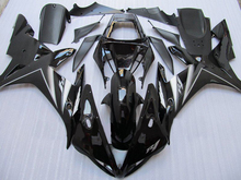 Motorcycle Fairing Kit for YAMAHA YZFR1 02 03 YZF R1 2002 2003 YZFR1000 yzfr1 02 03 ABS gloss black Fairings set+7gifts YD15(China)