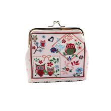 Hot Sale 2016 Women Mini Cute Owl Wallet Card Holder Case Coin Purse Clutch Designer Handbags High Quality Fashion Brand