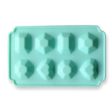 Jewel silicone chocolate mold mould ice cube tray cake decorating tools pudding jelly mold