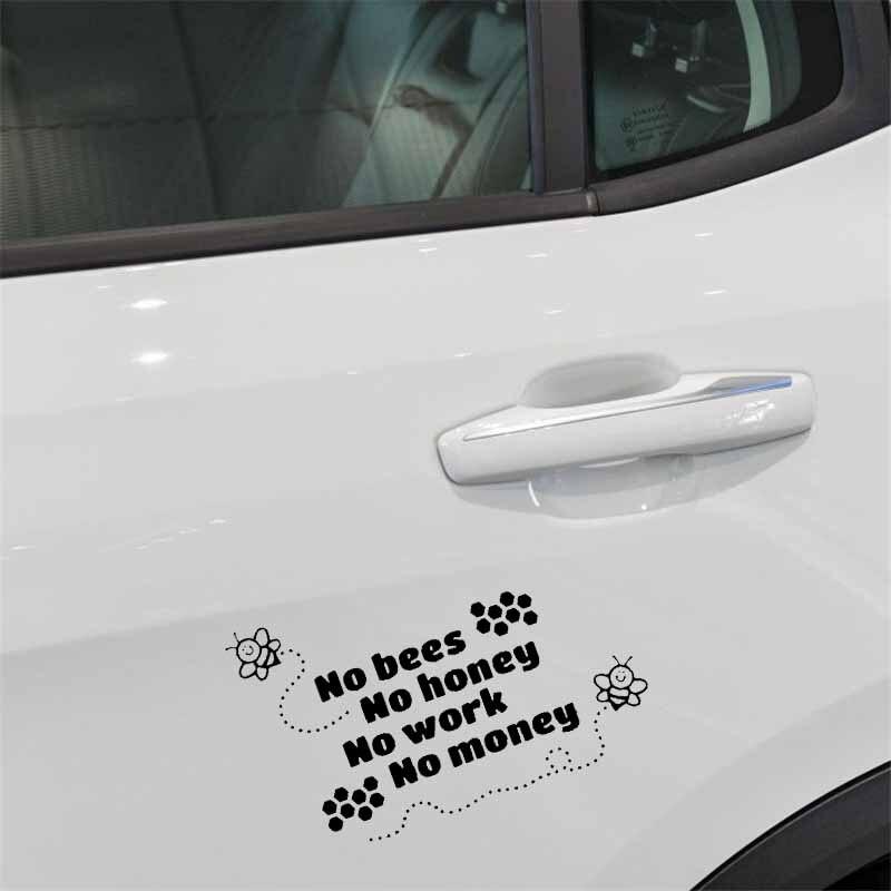 Apiarist Honey Bee Design Car Window Bumper Vinyl Decal Sticker 16.5CM x 10.2CM