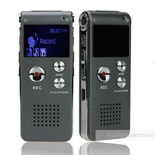 Digital Voice Recorder Telephone Audio Recorder MP3 Player Dictaphone 609 Built-in 8GB