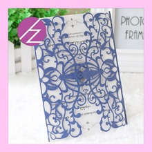 60/pcs Europe style laser cut latest design paper craft shimmer paper luxurious wedding invitation card greeting card QJ-62(China)