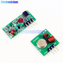 Free Shipping 433Mhz RF Wireless Module Transmitter Receiver Link Kit 5V DC For Arduino Raspberry Pi /ARM/MCU WL