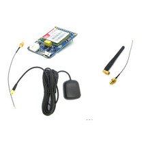 SIM808 module GPS GSM GPRS a body positioning short messages module belt bluetooth function with antenna