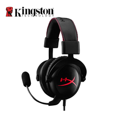 Kingston HyperX Cloud Core Headphone Hi-Fi Auriculares Headset Black Gaming Headset With a Microphone For Computer PC Desktop(China)