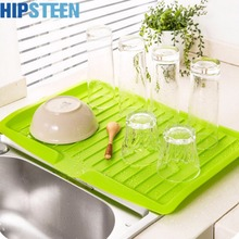 HIPSTEEN Dishes Sink Drain Pallets Filter Plate Storage Rack Kitchen Vegetable Fruit Storage Shelving Board