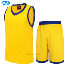 kids basketball jersey kits blank sporting jerseys comfortable training sets boys basketball uniforms suits 10 colors available