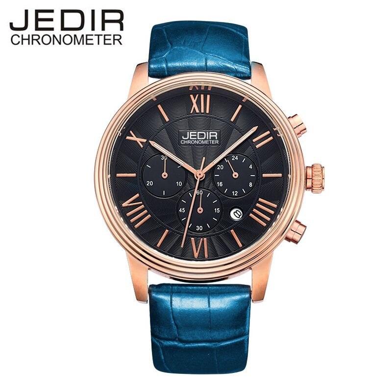 JEDIR Mens Watches Top Brand Luxury Mens Day Watch Male Quartz-watch Wrist Watch Montre Homme Gift Box Free Ship<br><br>Aliexpress