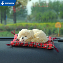 DREAMCAR Creative Air Freshener Cute Car Air Freshener Simulation Dog & Cat Solid Charcoal Bag For Car/Household(China)