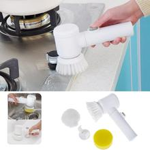 Magic Electric Multifunctional Household 5 in 1 Bath Kitchen Cleaning Brush