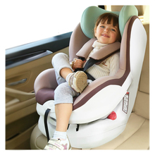 Luxury Baby Safety Seat ISOFIX Interface Car Load 0-4 Years Old Child Safety Seat(China)