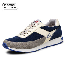 Camel Active 2017 Brand Stretch Fabric Men Shoes Breathable Canvas Boat shoes Men Flats Loafers Men Driving Shoes Casual Shoes(China)