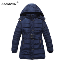 Baoziwo winter jacket girls baby girl jacket ,children winter jackets kids winter jacket size6-14,girls outwear coats