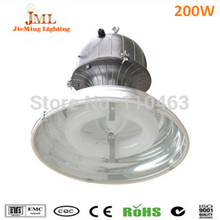 200W High bay factory warehouse car park light lamps IP65 Waterproof Aluminum housing high bay indoor lighting induction lamps(China)