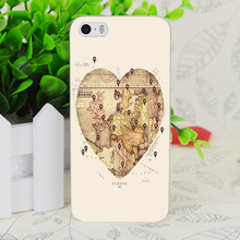 C0345 Love To Travel Transparent Hard Thin Case Skin Cover For Apple IPhone 4 4S 4G 5 5G 5S SE 5C 6 6S Plus