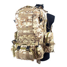 US Tactical Molle Assault Backpack Bag Digital ACU Camo military backpack