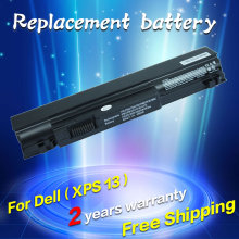 Laptop battery For dell Studio XPS 13 Studio XPS 1340 P866C P891C T555C T561C 312-0773 312-0774 5200mah(China)